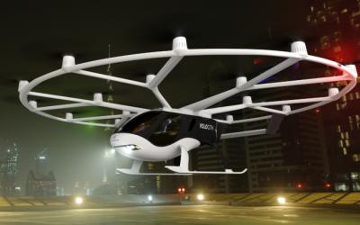 Volocopter präsentiert neues Design für urbane Flugtaxis