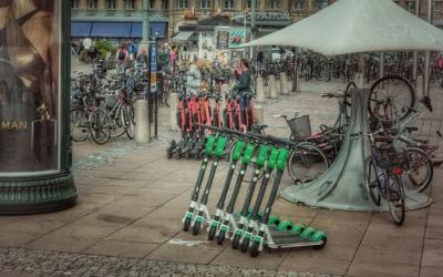 Deutsches Umweltbundesamt hält E-Scooter für umweltschädlicher als Fahrräder