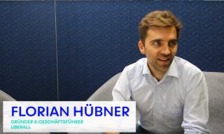 3 Fragen an… Florian Hübner von Uberall