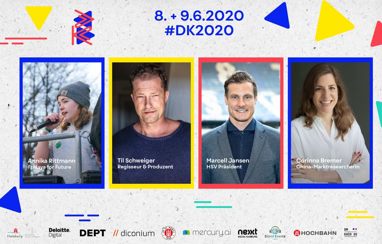 DK2020 Line-up Til Schweiger, Marcell Jansen