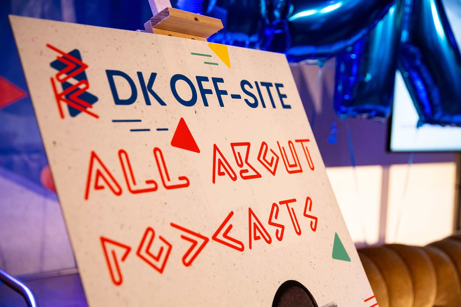 DK Off-Site All about Podcasts