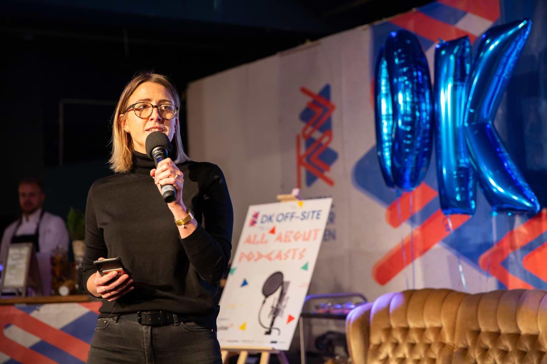 DK Off-Site: Varena Junge Talk