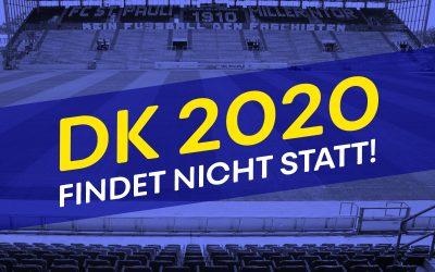 Der DK 2020 findet nicht statt