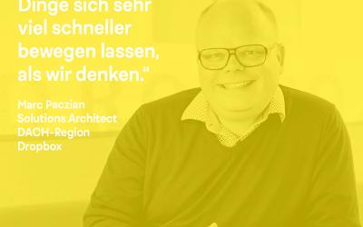 DK Talk: mit Marc Paczian von Dropbox