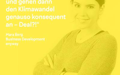 DK Talk: mit Mara Berg von enyway