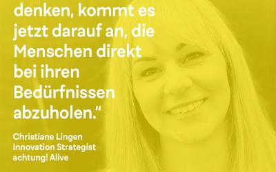 DK Talk: mit Christiane Lingen von achtung! Alive